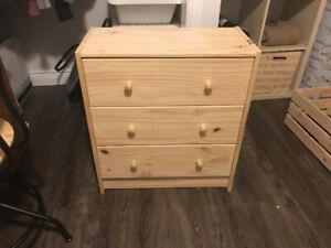 IKEA RAST Three Drawer Dresser