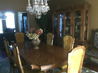 Eleven (11) Piece Dining Room Set