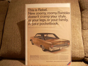 1966 rambler rebel ad