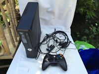 XBOX 360 250GB with 10 Games