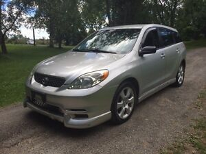 TOYOTA MATRIX XRS CERTIFIED AND E-TESTED