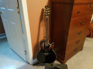 Ovation guitar and amp combo