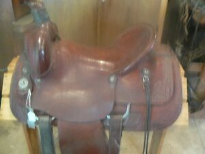 Hand Crafted Western Saddle