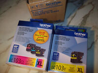 4 brother ink cartridges for multi printer