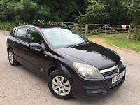 Vauxhall Astra black auto 1 former owner