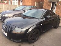 Black Audi TT 225bhp (bam engine) or swap BMW 1 series OFFERS