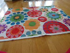 Brand new summer spring floral print colourful fabric sewing London Ontario image 3