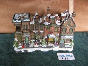COUNTRY CHRISTMAS VILLAGE & accessories