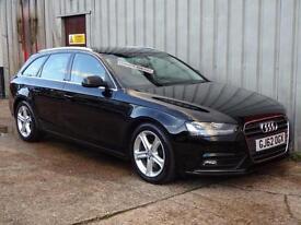 2012 (62) Audi A4 2.0 TDI Technik Estate Diesel £30 road tax *Leather & Nav*