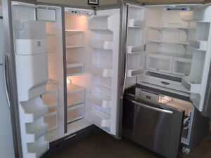 REFRIGERATEURS  STAINLESSE-STEEL A PRIX REDUIT
