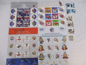 Hockey Stamps, New Assorted Postage Stamps of Canada GREAT DEAL!