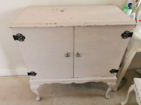 """Shabby chic cabinet french style 34"""" wide"""