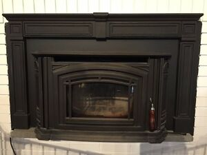 Wood fireplace insert - boston 1700