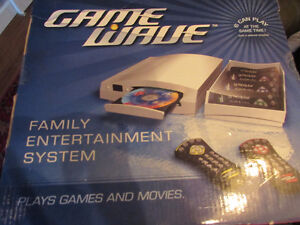 GAME WAVE FAMILY ENTERTAINMENT CONSOLE NEW UNUSED