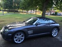 Chrysler Crossfire 3.2 V6 MOT 12 months low miles.