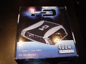 amplificateur HD scosche HDA4002 400 w NEUF dans boite