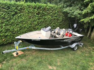 Bateau Princecraft Resorter DLX 2015