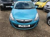 2012 Vauxhall Corsa 1.2 i 16v Excite 5dr
