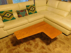 Vintage Mid Century Boomerang Coffee Table by Snyder's Furniture