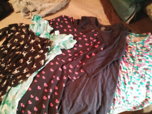Girls size 8 fall winter clothing lot 23 pieces all brand names