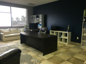 Office space 350+sqft $750/month +hst, includes utilities & inte