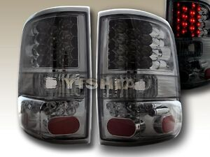 2004 2005 2006 2007 2008 ford f 150 styleside led smoke tail lights
