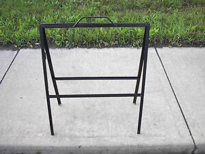 """Used """"A"""" Folding Frame Sign Holder – with Handle For On-Site Out"""