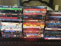 55 DVDs selling all together $50