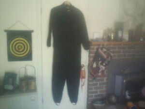 Men's One-Piece Thermal Underwear, Size Large