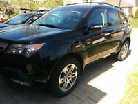 Acura MDX 2009 Black very low kms