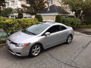 2008 Honda Civic Coupe ONLY 55000 KM - PERFECT CONDITION