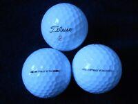 Titleist Pro v1 Golf Balls x 100. B / Practice Grade
