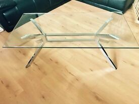Debenhams Glass Coffee Table