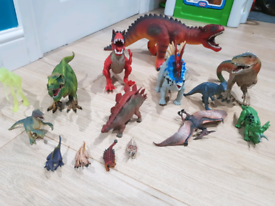 Dinosaur bundle incl Schleich