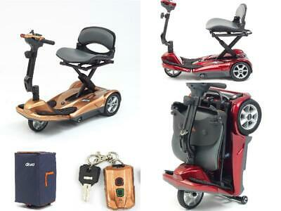 Drive 3 Wheel EasyMove Automatic Folding Mobility Scooter - RED- FULLY SERVICED