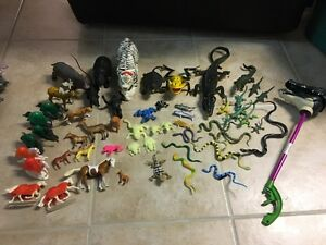 Animal & Reptile Toy Figures