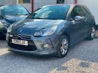 2011 Citroen DS3 1.6 e-HDi Airdream DStyle 3dr HATCHBACK Diesel Manual