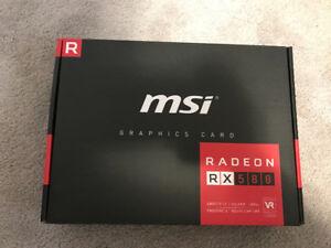 MSI Radeon RX580 Graphics Card (4gb)