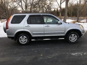 Honda CRV 2002 fully loaded