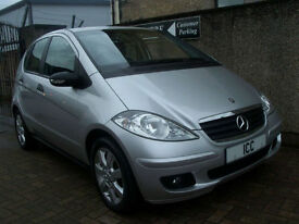 07 07 MERCEDES A150 SPECIAL EDITION 5DR 1.5 1 OWNER FROM NEW F.S.H ALLOYS