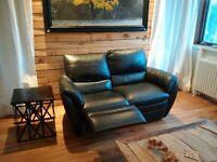 Natuzzi Leather Love Seat