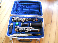Starter clarinet for sale with hardcase