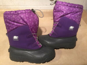 Girls Sorel Winter Boots Size 6