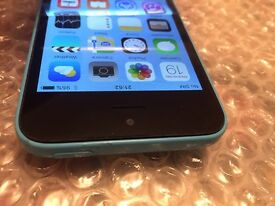 iPhone 5c blue 32GB Tesco O2 and giffgaff networks £120 ( 9580)