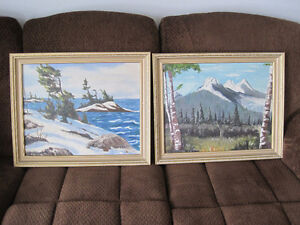 very large canvas in frame / landscape images Kitchener / Waterloo Kitchener Area image 6