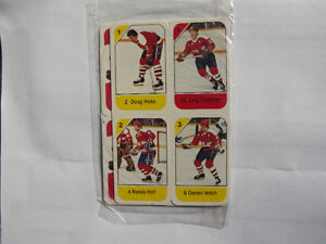 "FS: 1982-83 Post ""WASHINGTON CAPITALS"" Panel Set (Canadian Food"