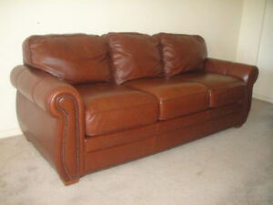Top Quality Palliser All Leather Sofa Set, Can Deliver