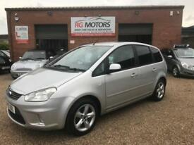 2010 Ford C-MAX 1.6 16v 100 Zetec Silver 5dr MPV, **ANY PX WELCOME**