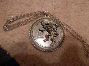 Game of Thrones House Lannister Necklace/Medallion