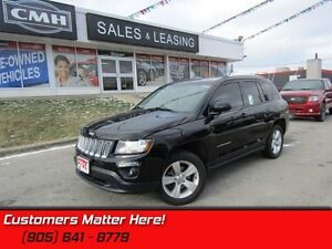 2014 Jeep Compass Sport   HEATED LEATHER SEATS!   4X4!   ALLOYS!